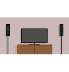 home cinema vector image