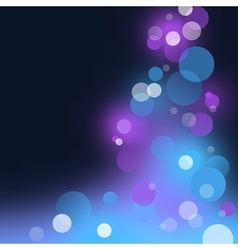 Abstract Blurry Light vector image