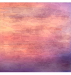 Beautiful abstract background - sunrise on the sea vector