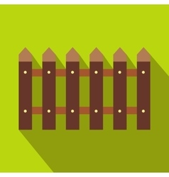 Fence icon with shadow vector