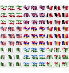 Iran united kindom udmurtia usa kabakh republic vector