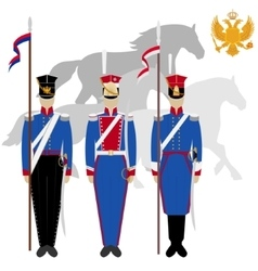 Lancers vector image vector image