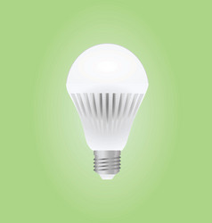 Led bulb vector