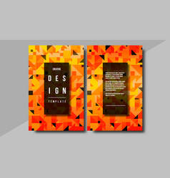 minimal covers design creative concept with vector image vector image