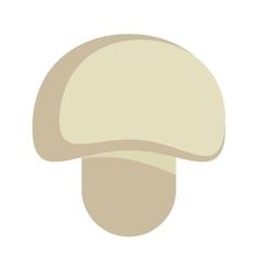 Mushroom organic food design vector