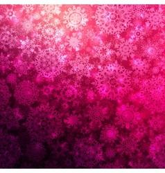 Seamless deep pink christmas pattern EPS 10 vector image vector image