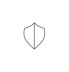 secure shield icon vector image