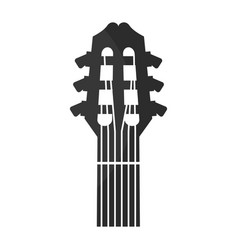 Guitar acoustic musical instrument vector