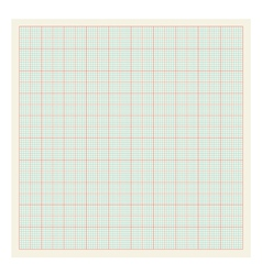 Graph paper background vector