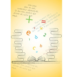 Book of knowledge vector