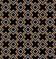 Ethnic seamless geometric pattern in celtic style vector