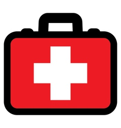 First aid box icon vector image