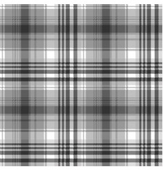 gray black white pixel check plaid seamless vector image