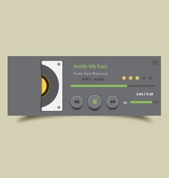 Music player 25 vector
