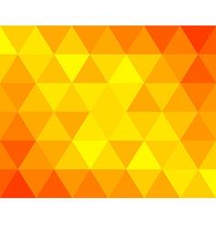 orange tri vector image vector image