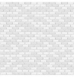 white brick template vector image