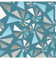 Triangular torsion seamless pattern vector