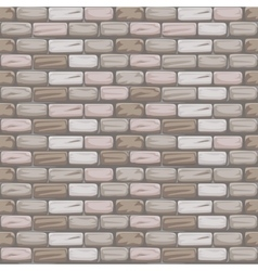 Seamless pattern stone brick grey vector