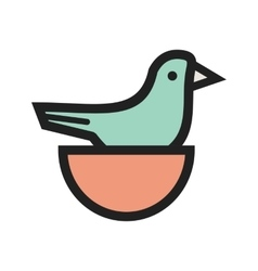Little bird vector