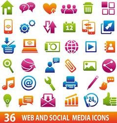 MediaiconsWeb vector image