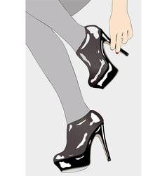 Small elements of female sensuality vector image vector image
