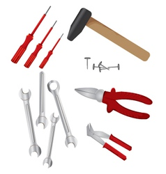Hardware tools vector