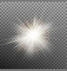 burst effects on transparent background eps 10 vector image