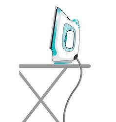 ironing vector image