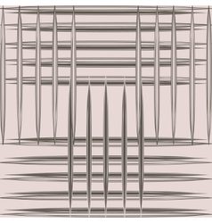 Grid pattern lines vector