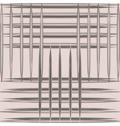 Grid pattern lines vector