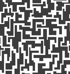 monochrome tech seamless pattern vector image