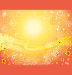 Yellow and red background vector