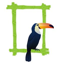 bamboo toukan vector image