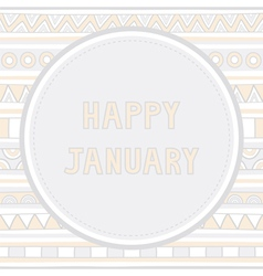 Happy january background1 vector