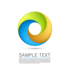 abstract infinite loop vector image