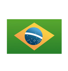brazil blag official national banner image vector image