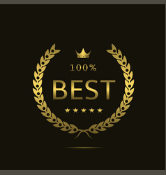 Golden best label vector