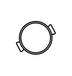 paella icon vector image vector image