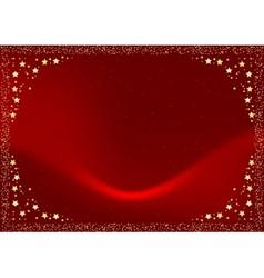 Red christmas velvet vector