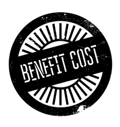 Benefit cost stamp vector