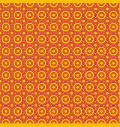 Decorative hand drawn seamless pattern vector