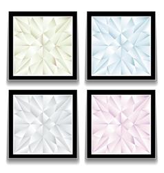 Diamond buttons vector image