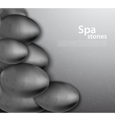 Background with stones vector image