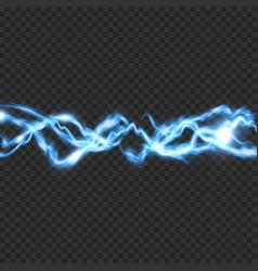 Electric lighting transparent effect vector