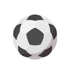Soccer ball cartoon icon vector