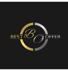 Best offer label vector image vector image