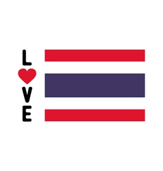 I love thailand11 vector
