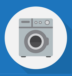 of home symbol on washing vector image