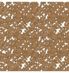 Seamless Jigsaw Pattern vector image vector image