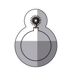 Isolated bomb design vector